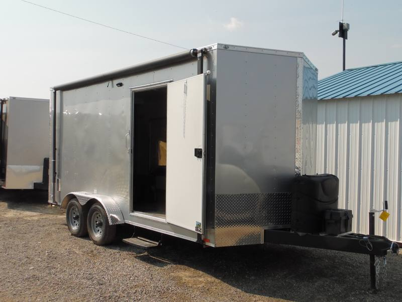 7 x 16 Continental Cargo V-Series with Camper Package