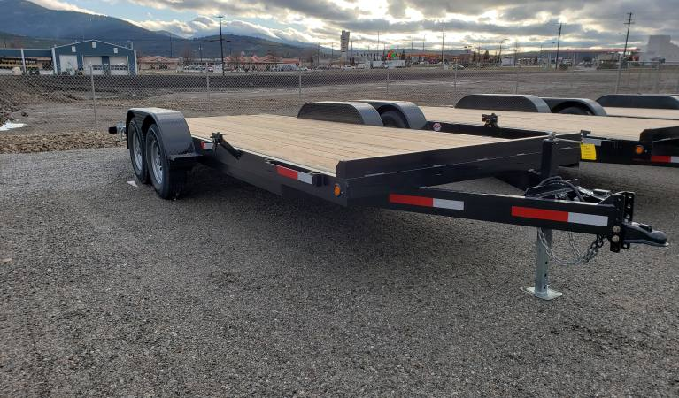 7 x 20 Fox Trailer with Dove Tail, 14K