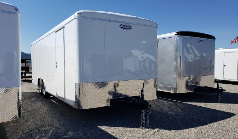 8.5 x 24 Tailwind Car Trailer with 6″ Extra Height