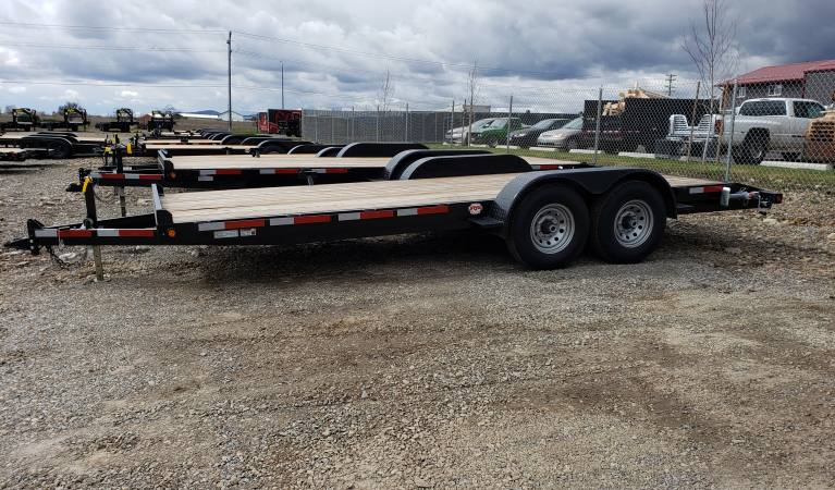 7 x 20 Fox Trailer with 2′ Dove Tail, 12K