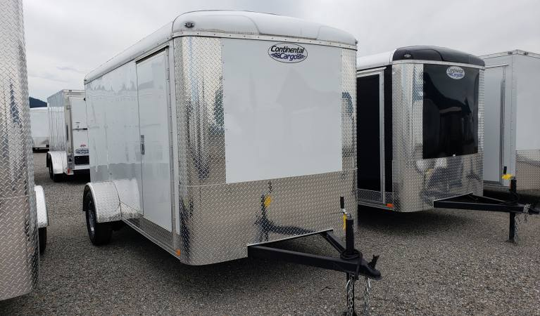 6 x 12 Tailwind with Ramp, Appearance Package (White)